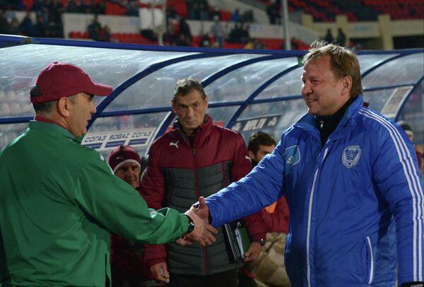 Курбан Бердыев (слева) и Юрий Калитвинцев