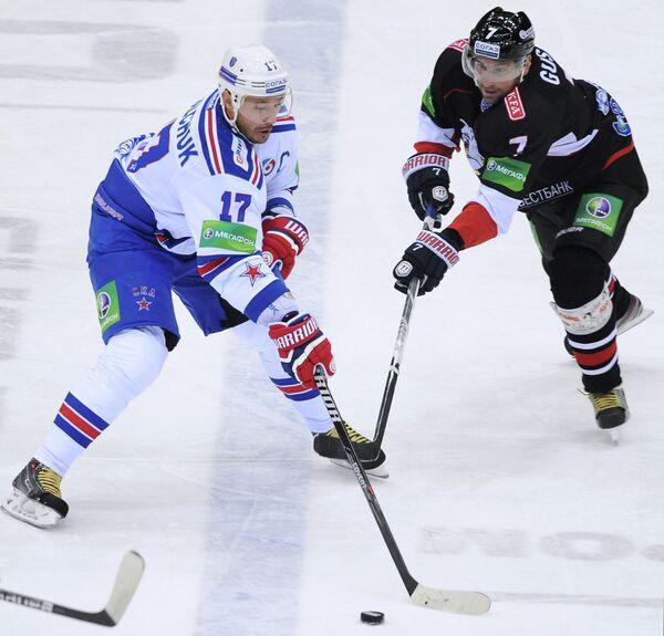 Илья Ковальчук (слева) и Александр Гуськов