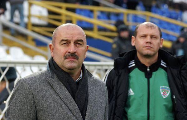 Станислав Черчесов и Мирослав Ромащенко (слева направо)