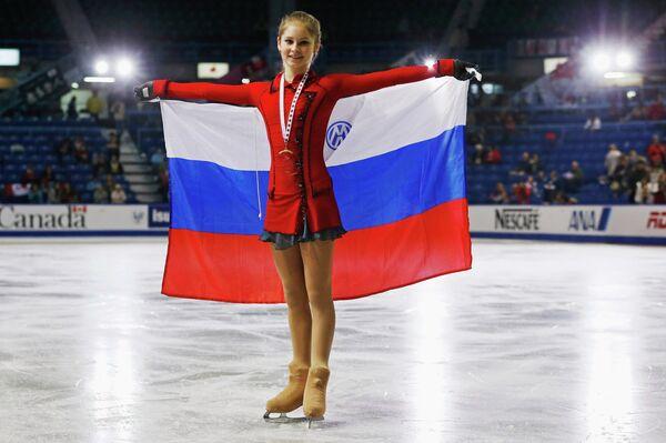 Российская фигуристка Юлия Липницкая