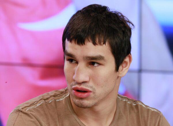 Боксер российской сборной Артем Чеботарев