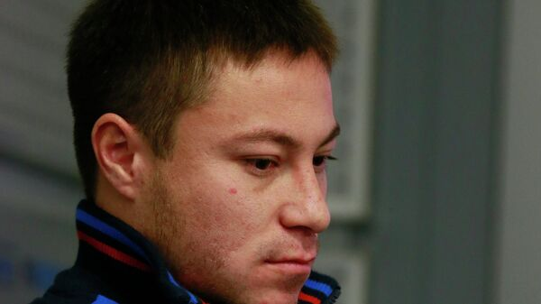 Серебряный призер чемпионата мира по тяжелой атлетике 2013 Олег Чен