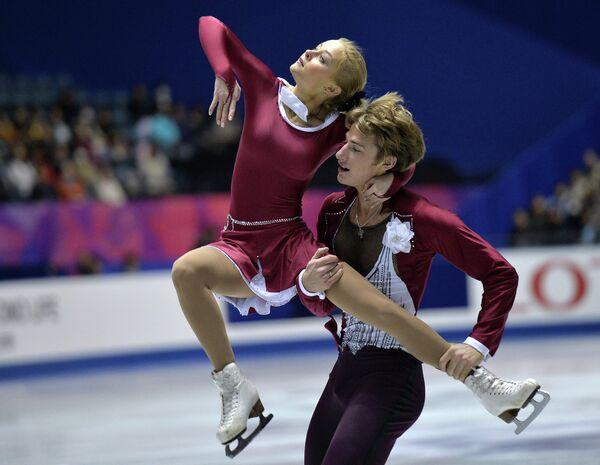 Анастасия Мартюшева и Алексей Рогонов