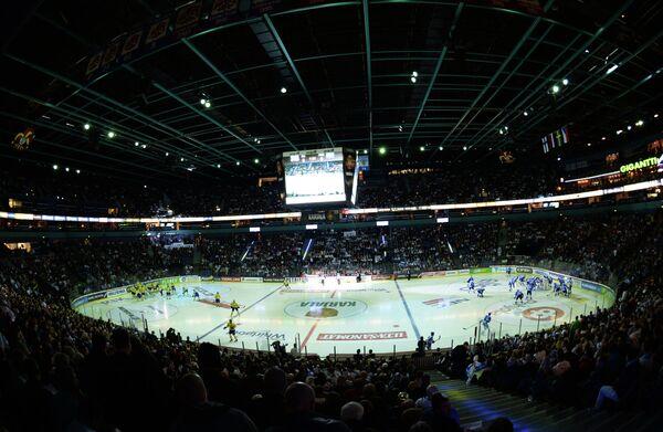 Внутренний вид стадиона Хартвалл Арена