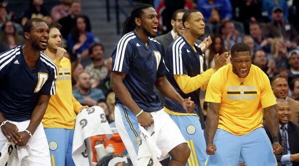 Баскетболисты Денвера