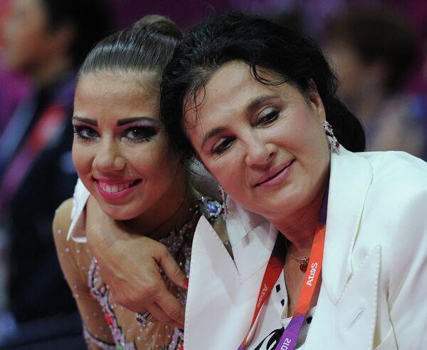 Алина Макаренко и Ирина Винер