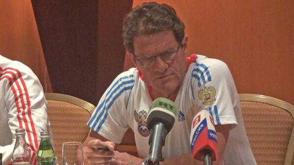 Капелло объяснил, почему не вызвал Игоря Денисова на матчи в Дубае