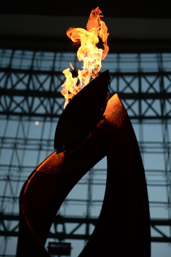 Эстафета Олимпийского огня. Владивосток. Первый день