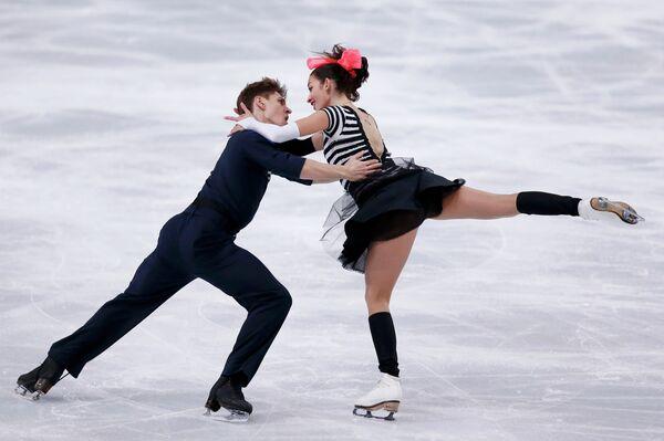 Российская пара Ксения Монько и Кирилл Халявин