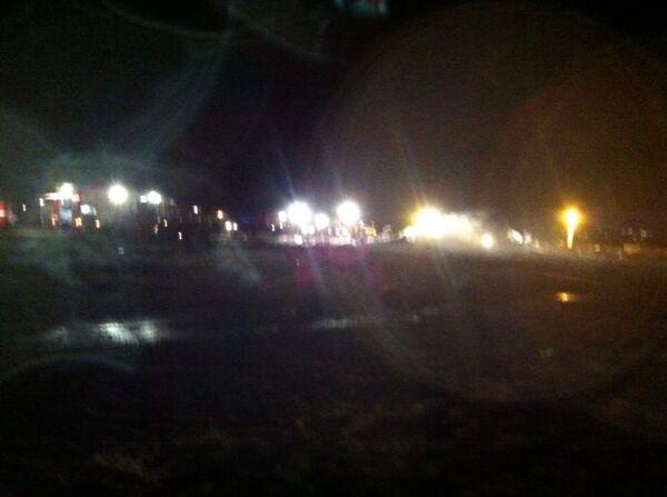 На месте крушения самолета Боинг 737