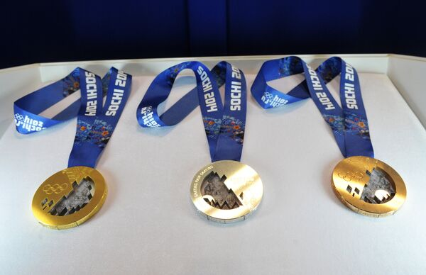 Медали зимней Олимпиады-2014
