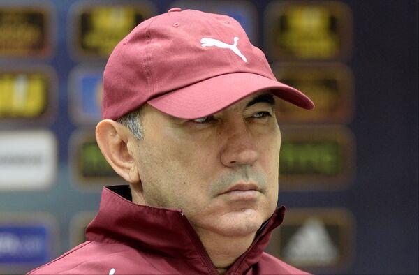 Курбан Бердыев на пресс-конференции