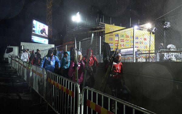 Индивидуальная гонка биатлонисток на этапе Кубка мира перенесена