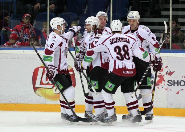 Хоккеисты Динамо (Рига)