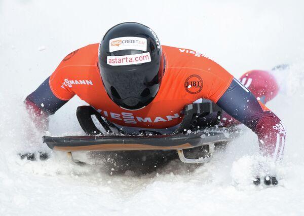 Скелетон. II этап Кубка мира. Мужчины. Томасс Дукурс (Латвия).