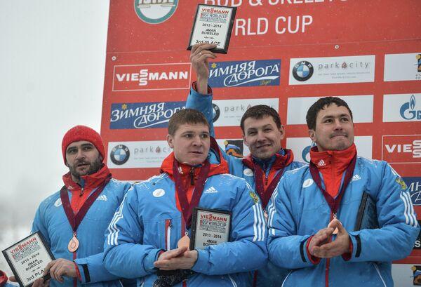 Александр Касьянов, Филипп Егоров, Максим Белугин и Алексей Пушкарев