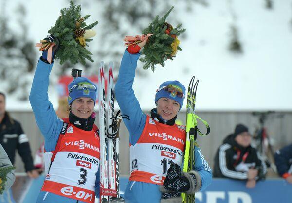 Ирина Старых (слева) и Екатериан Шумилова