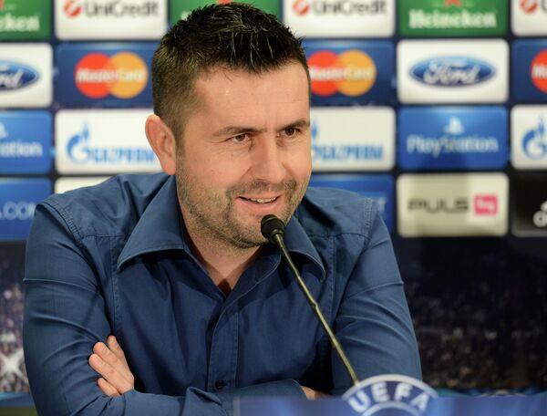 Главный тренер футбольного клуба Аустрия Ненад Белица