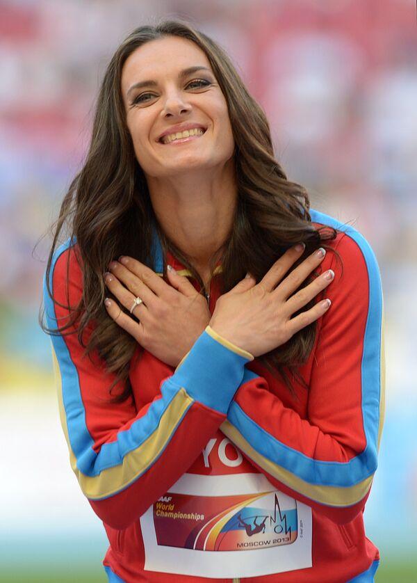 Елена Исинбаева (Россия)