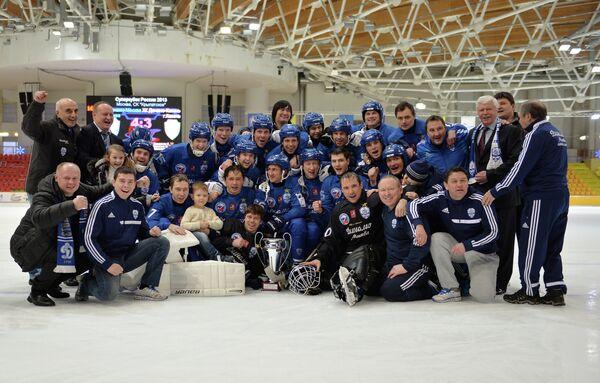 Игроки и персонал Динамо (Москва)
