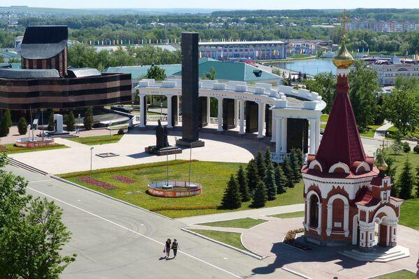 Центр города Саранска
