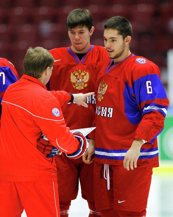 Евгений Корешков и Алексей Береглазов и Валерий Васильев (слева направо)