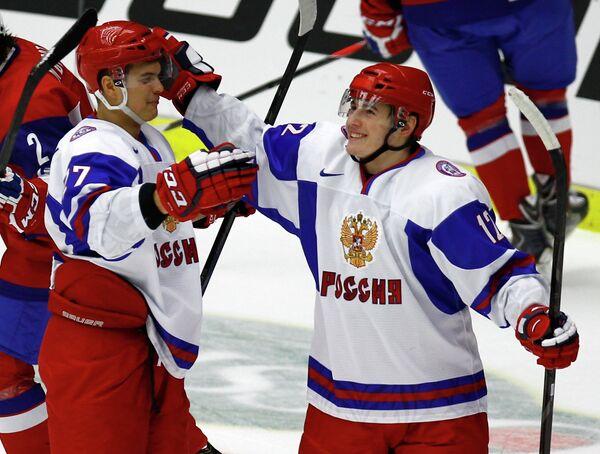 Вадим Хлопотнов и Иван Барбашев (слева направо)