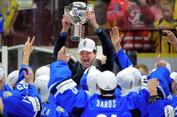 Главный тренер молодежной сборной Финляндии Карри Киви
