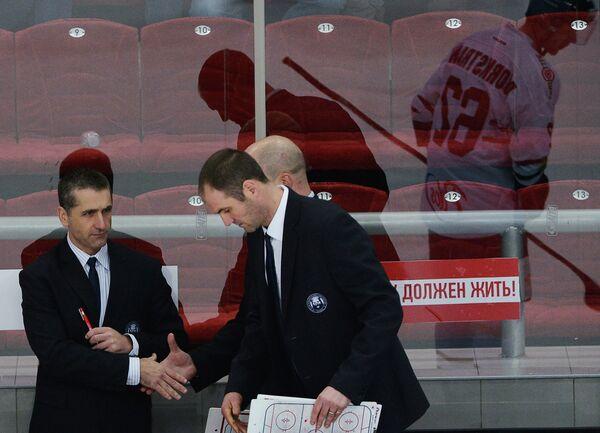Марк Френч и Дон Маклин (слева направо)