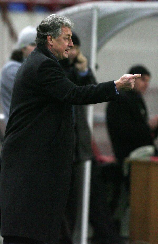 Футбольный тренер Ринат Билялетдинов