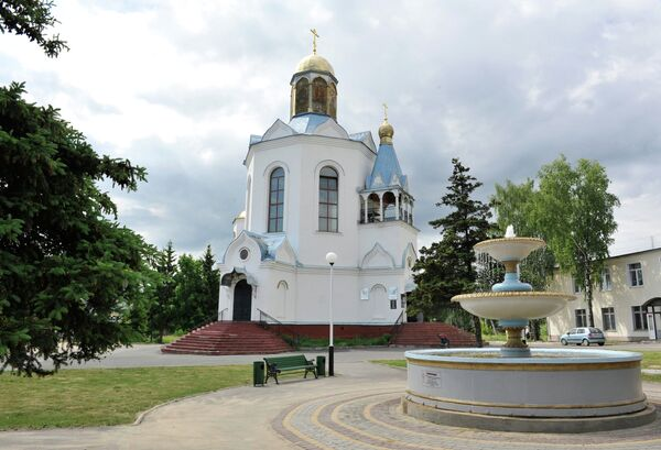 Церковь Иконы Божией Матери Неопалимая Купина в городе Дятьково, Брянская область