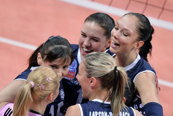 Волейболистки Динамо-Казань