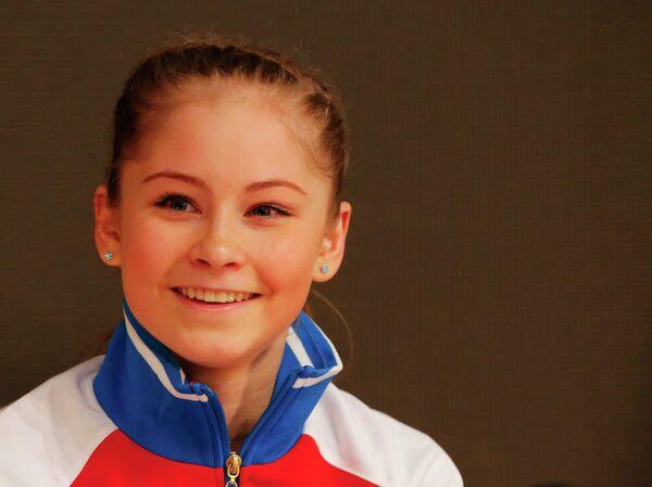 Российская фигуристка Юлия Липницкая на чемпионате Европы в Будапеште