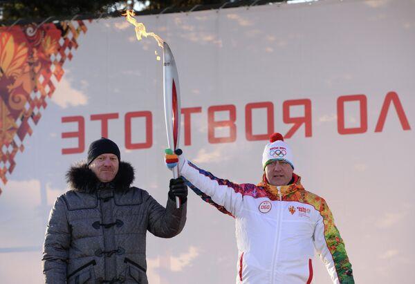 Сергей Горняков (слева) и Сергей Петров