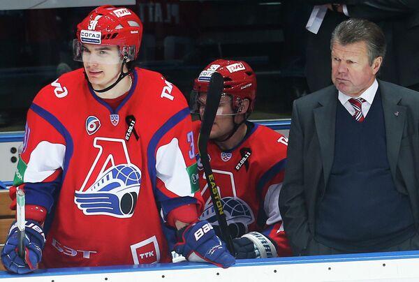 Рафаэль Ахметов, Джефф Плэтт и Петр Воробьев (слева направо)