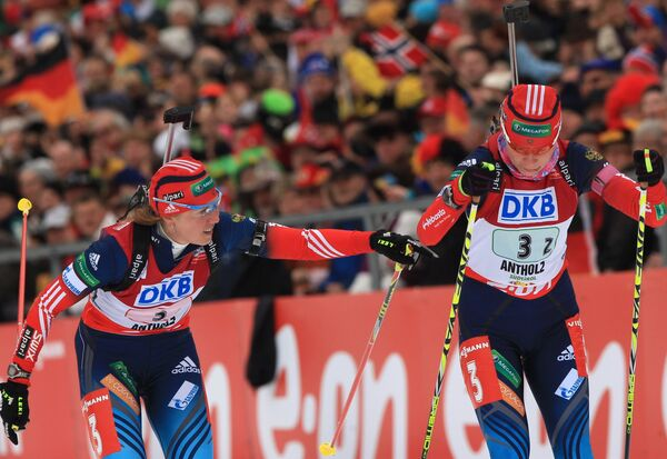 Яна Романова (слева) и Екатерина Шумилова