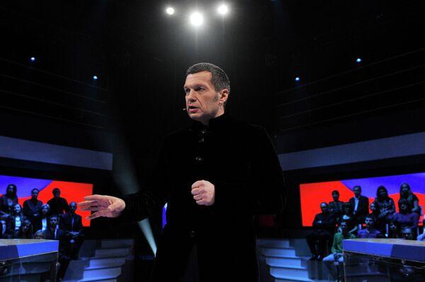 Телеведущий Владимир Соловьев, архивное фото