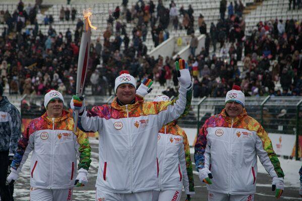 Чемпиона Олимпийских игр 2004 года по греко-римской борьбе Хасан Бароев