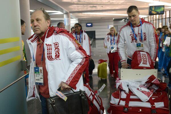 Сборная России по керлингу прибыла в Сочи