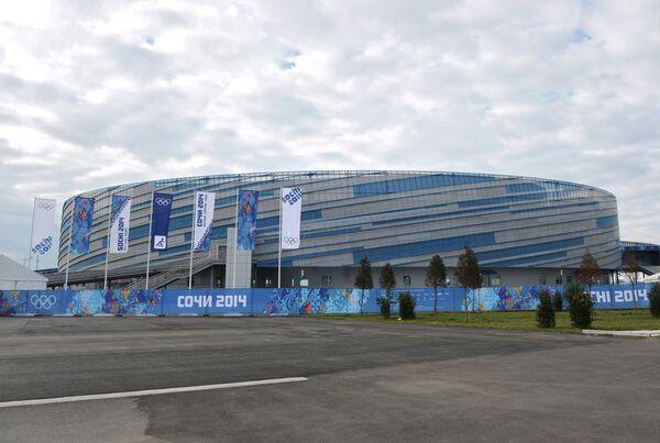 Ледовая арена Шайба в Сочи.