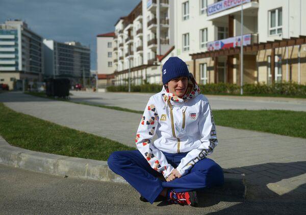 Чешская конькобежка Мартина Сабликова