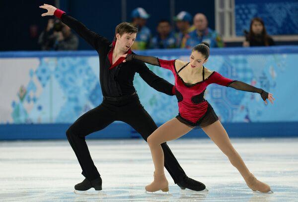 Стефания Бертон и Ондржей Готарек