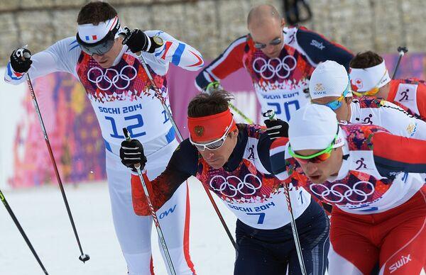 В центре: Максим Вылегжанин (Россия)
