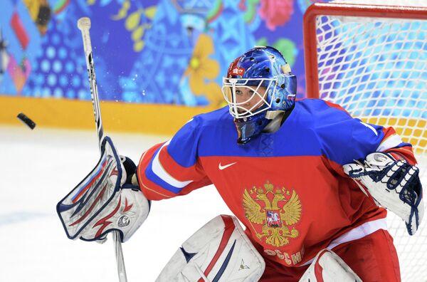 Вратарь российской хоккейной сборной Анна Пругова