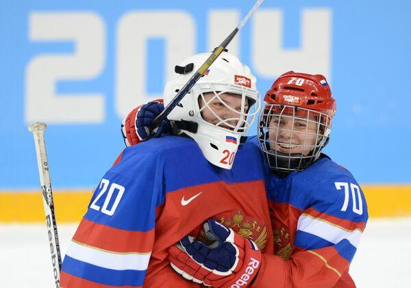 Олимпиада 2014. Хоккей. Женщины. Россия - Германия