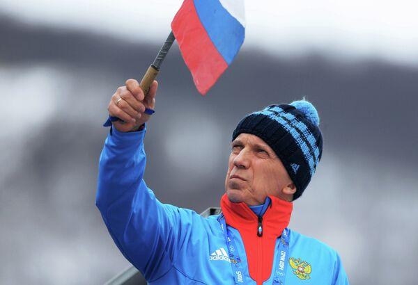 Тренер сборной России по двоеборью