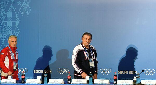 Зинэтула Билялетдинов и Владислав Третьяк (слева направо)
