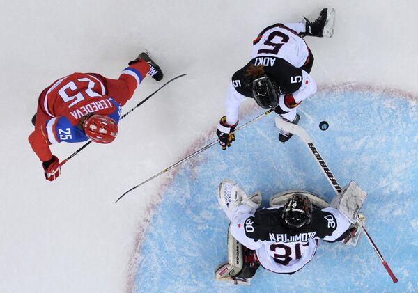 Олимпиада 2014. Хоккей. Женщины. Россия - Япония