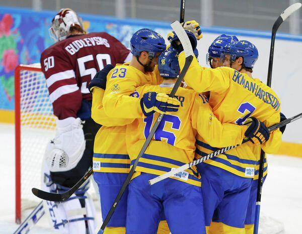 Хоккеисты Швеции