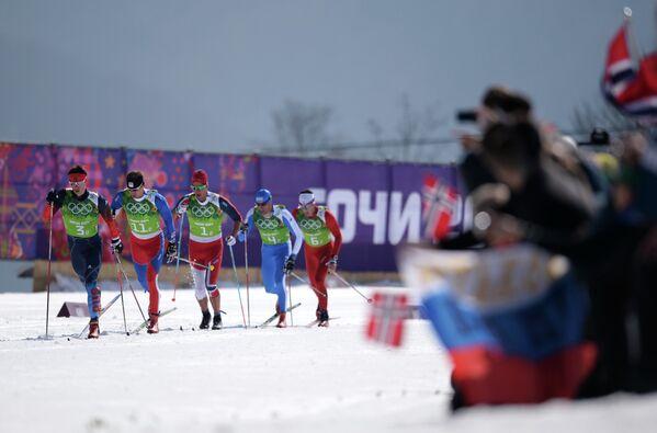 Слева направо: Александр Бессмертных (Россия), Лукаш Бауэр (Чехия), Крис Андре Есперсен (Норвегия), Джорджо Ди Чента (Италия) и Йонас Бауман (Швейцария)